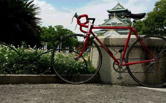 サイクリング、天気の良さに誘われて